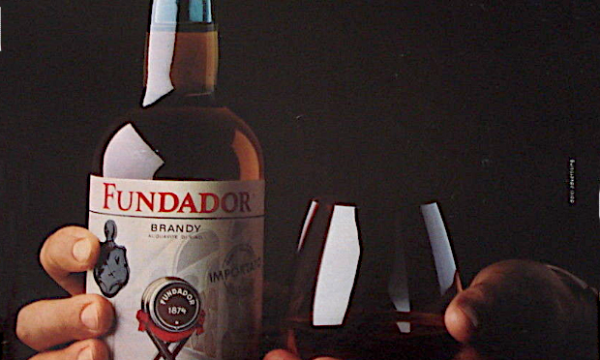 """Brandy FUNDADOR """"El Sabor"""" – (1988)"""