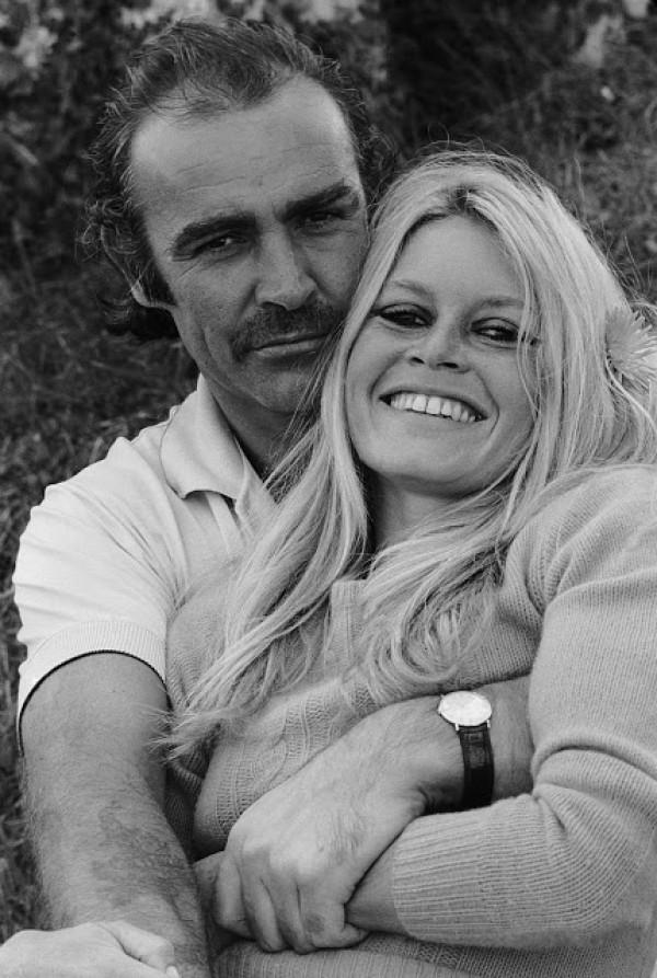 sean connery brigitte bardot anni 70