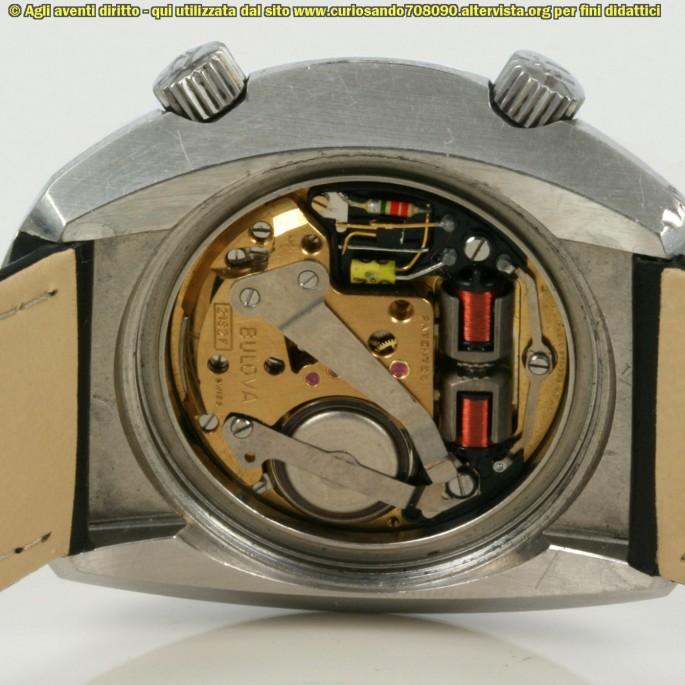 bulova accutron 1974 meccanismo interno
