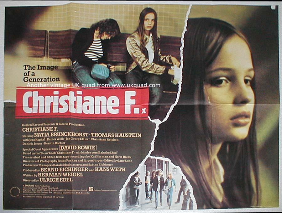 CHRISTIANE F. FILM LOCANDINA