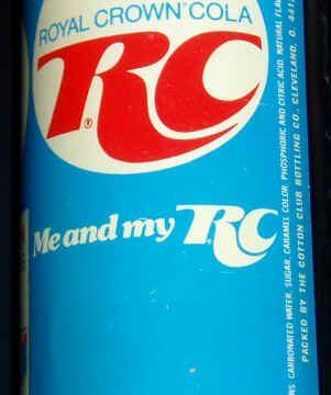 RC COLA – Royal Crown Cola – (Anni 70/80)
