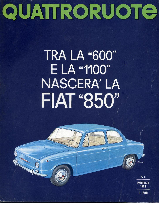 QUATTRORUOTE COPERTINE 1964 NUMERO 98 2