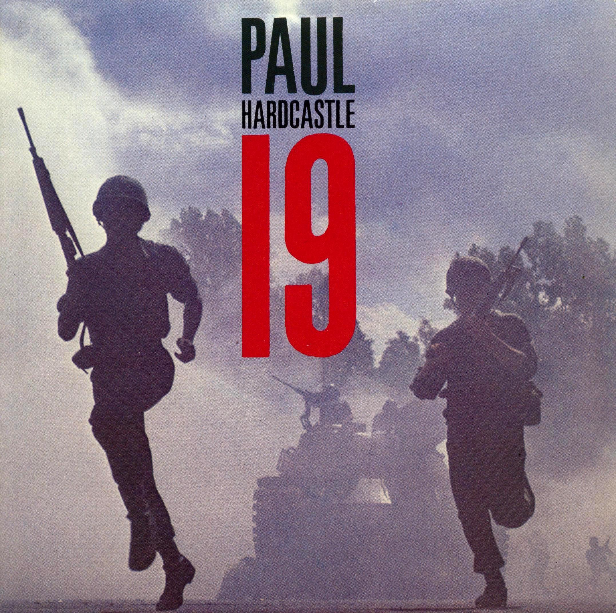 19 nineteen paul hardcastle copertina 45 giri