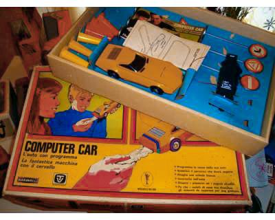 baravelli computer car gioco anni 60