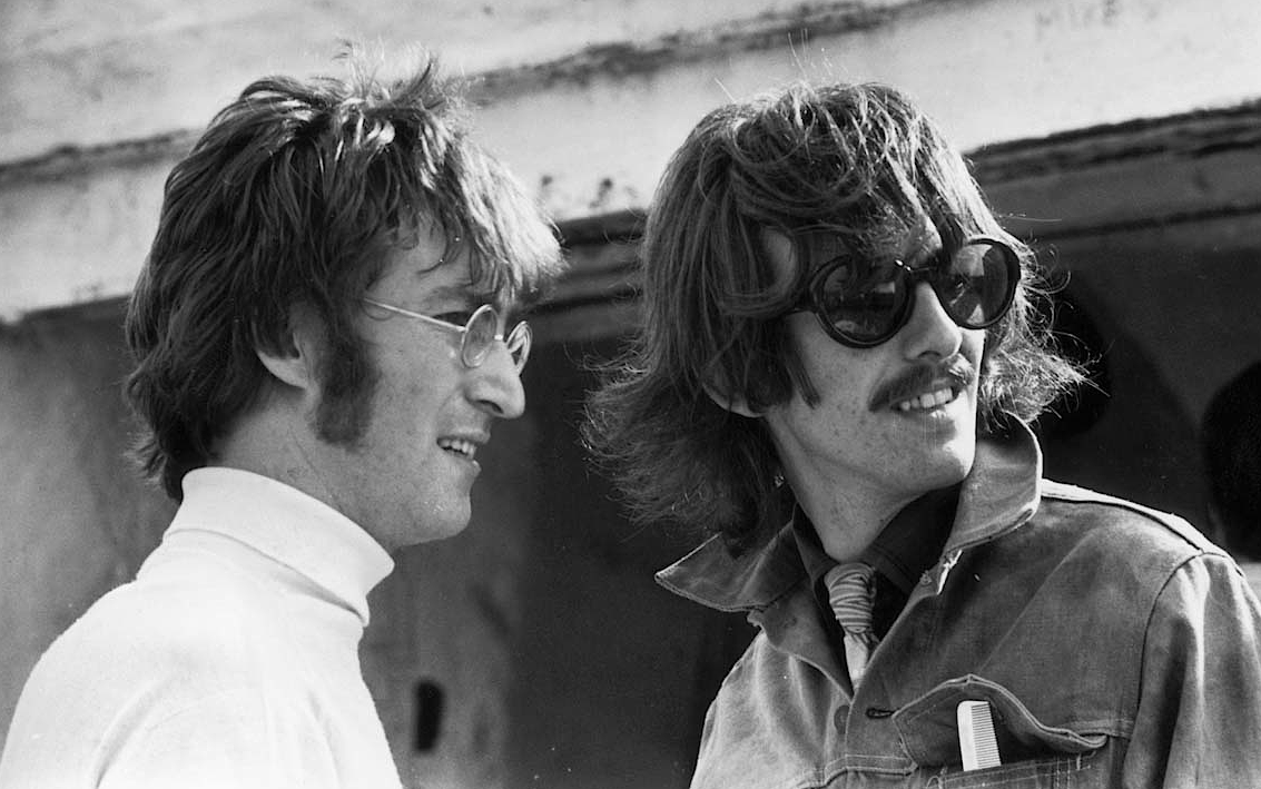 George Harrison-john-lennon- Getty-Images