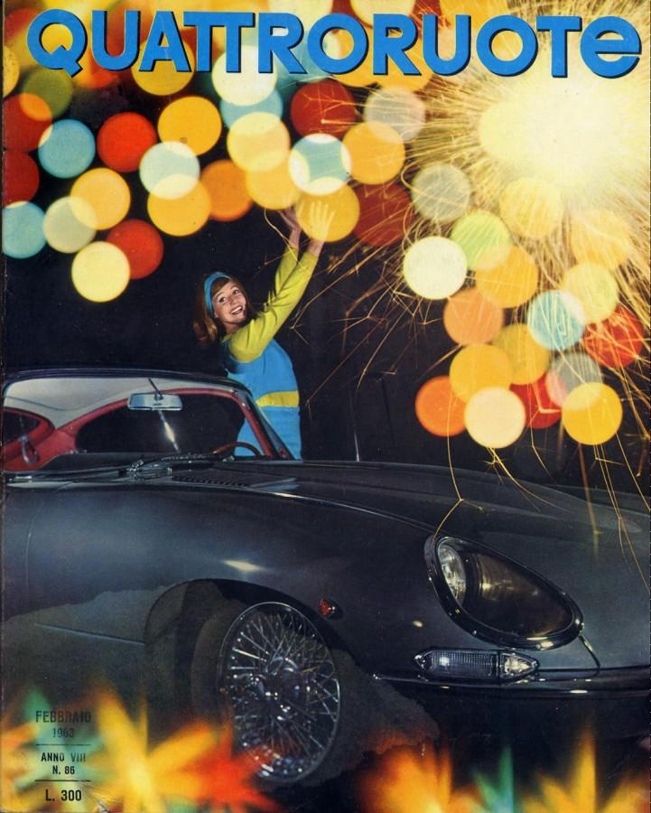 Quattroruote 1963 copertina febbraio