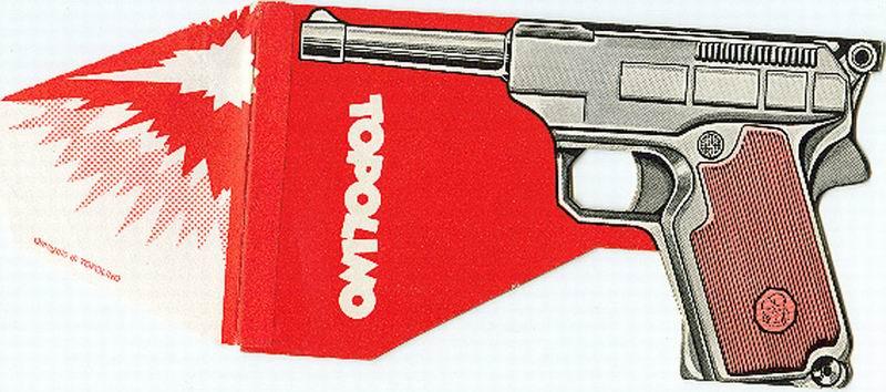 gadget topolino pistola bang vintage