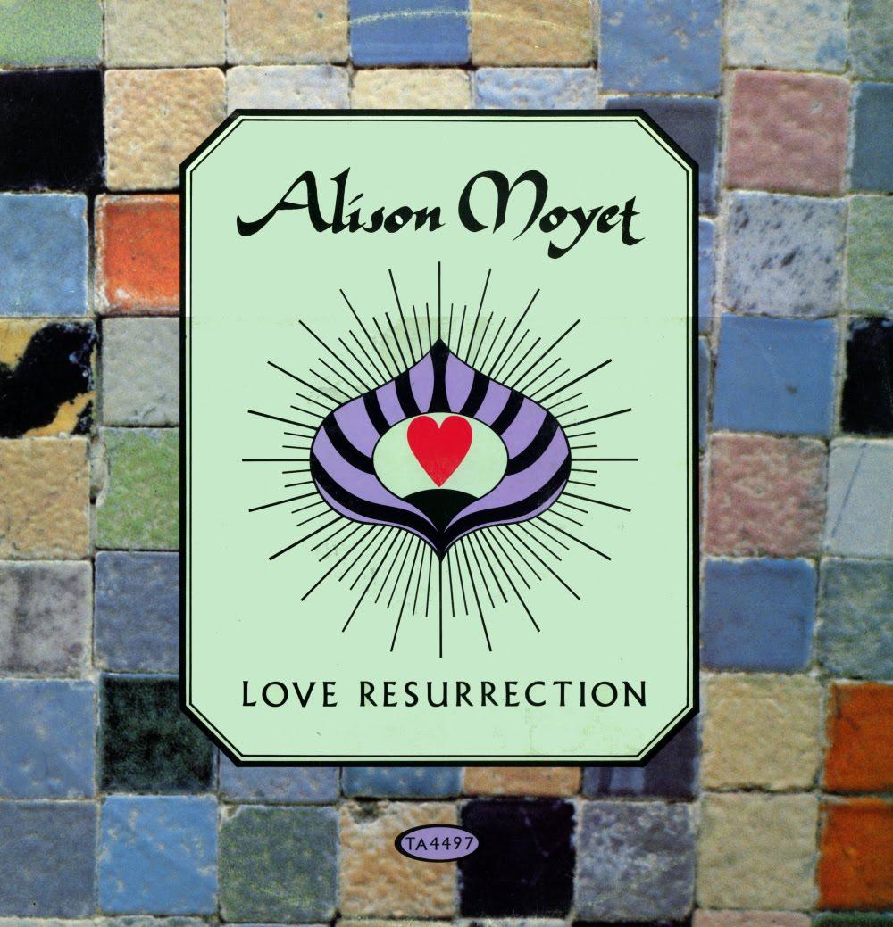 alison moyet love resurrection copertina disco