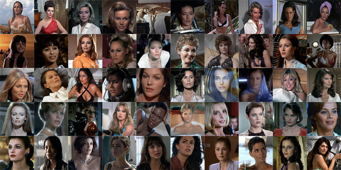 bond girl mosaico-