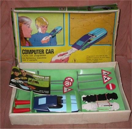 baravelli computer car confezione vintage