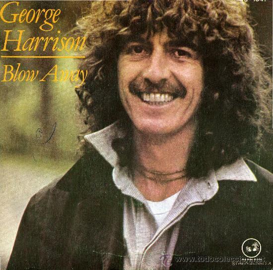 GEORGE HARRISON BLOW AWAY COPERTINA DISCO