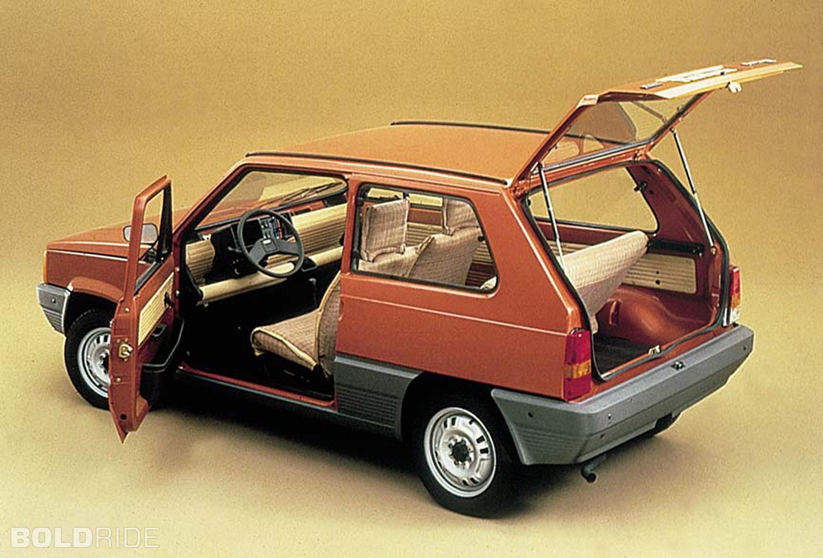 Fiat panda 1°serie storia auto epoca anni 80