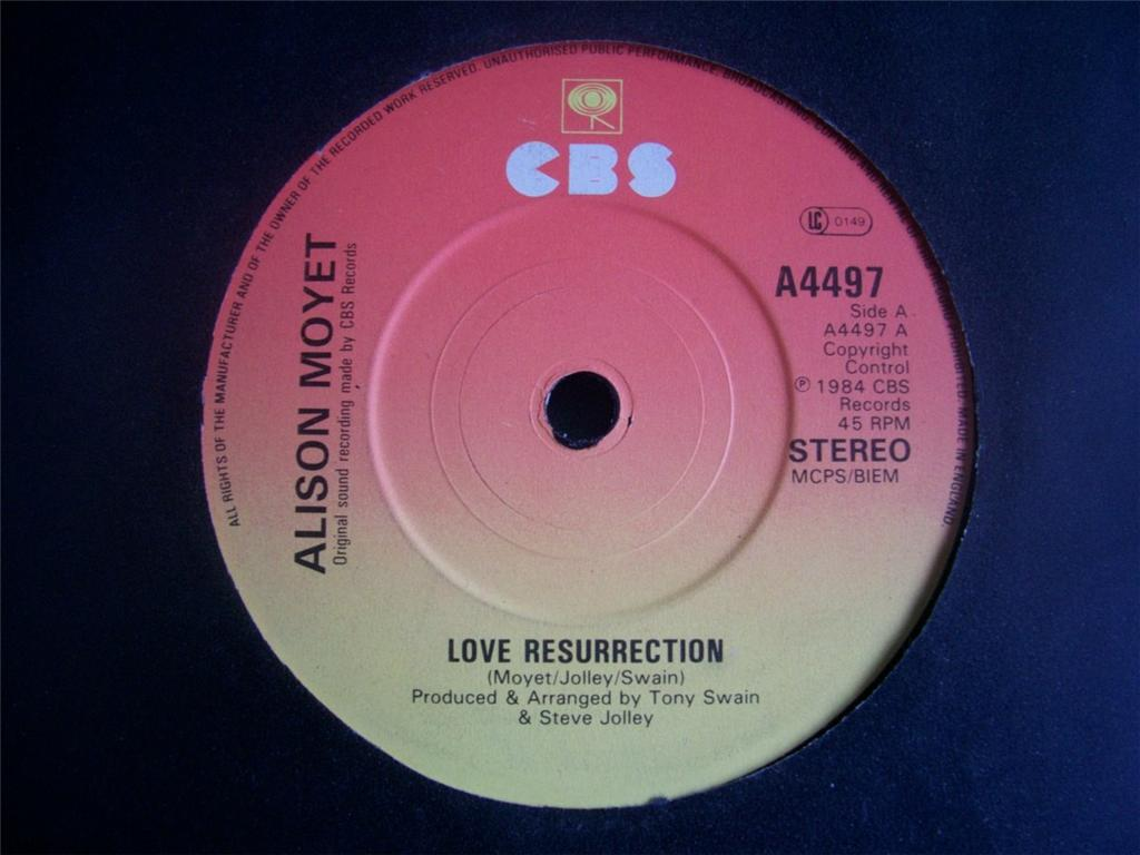 love resurrection alison moyet disco
