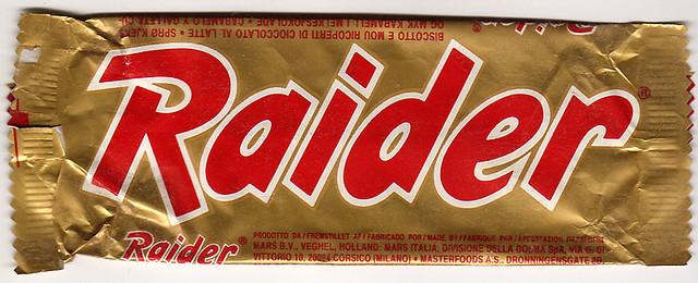 mars raider twix 1988