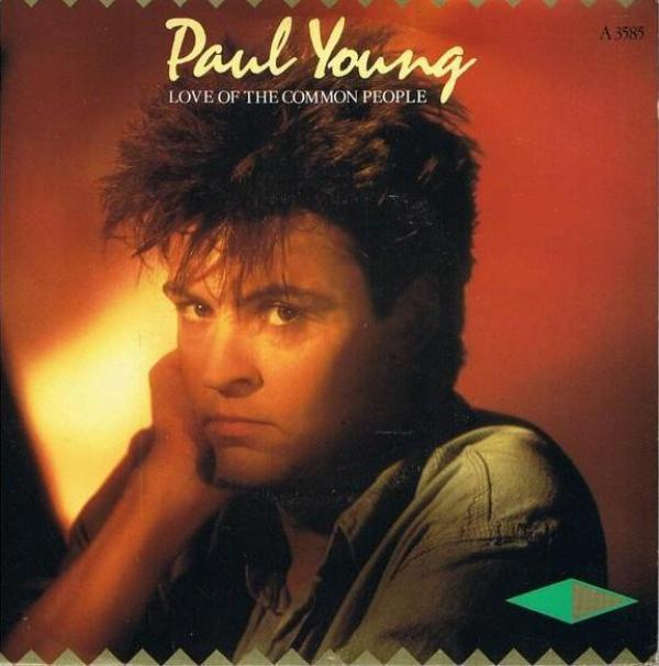 paul young love of the common people copertina