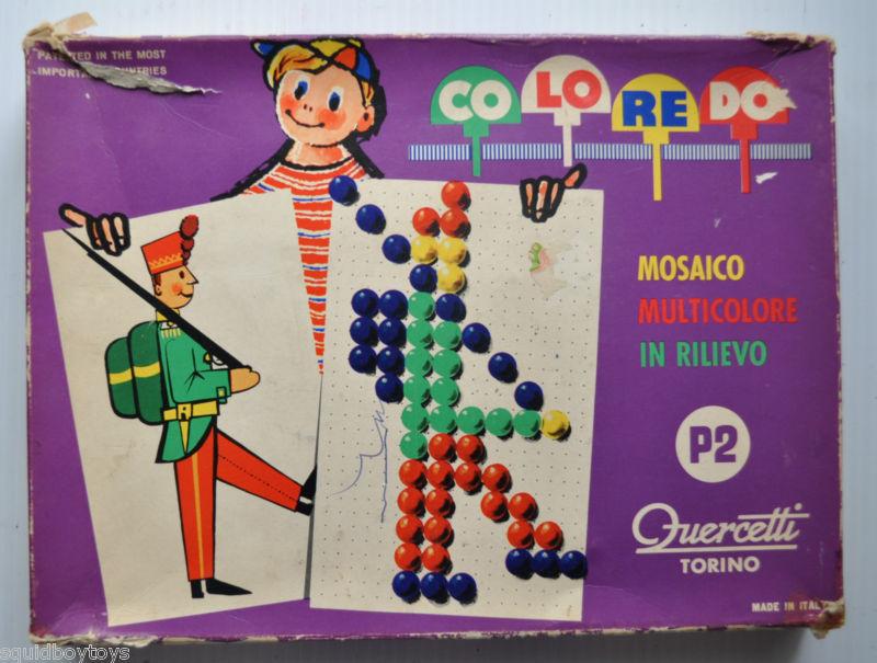 quercetti coloredo anni 60