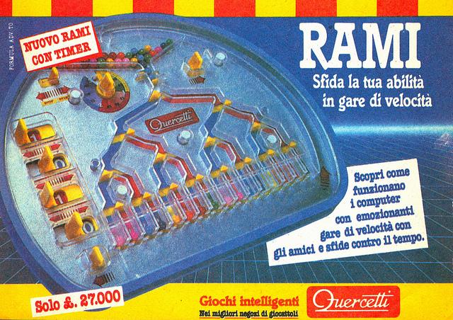 Quercetti Rami anni '80 fini didattici su www.curiosando708090.altervista.org