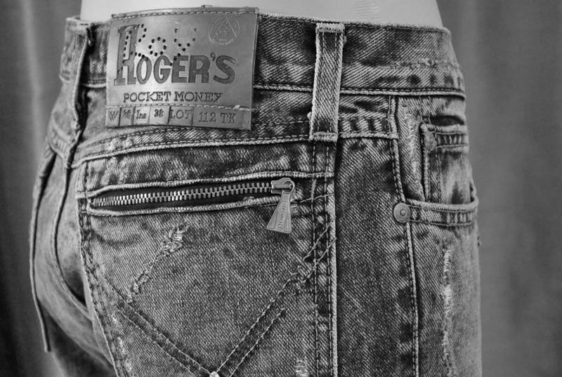 roy roger's jeans cerniera anni 70 vintage