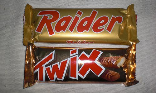 RAIDER (TWIX) MARS – (Dal 1967)