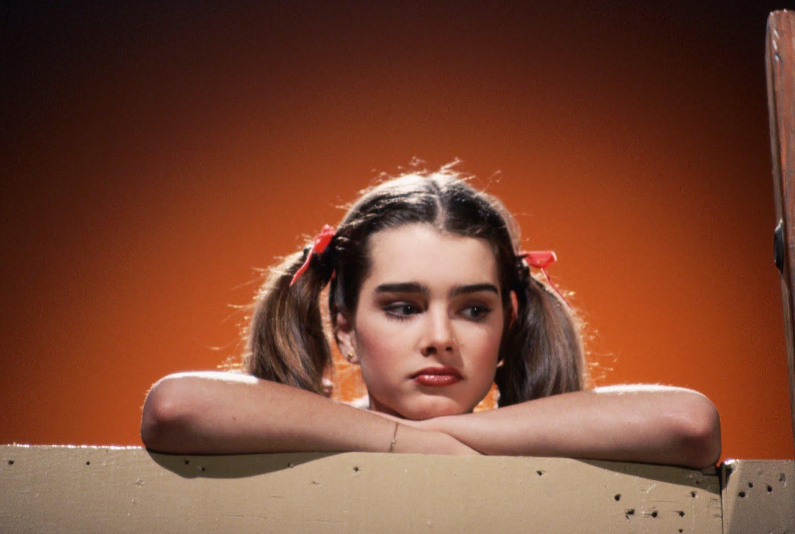 Brooke Shields in Pretty Baby 1975