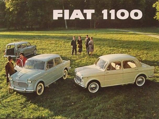 FIAT 1100 EXPORT BROCHURE