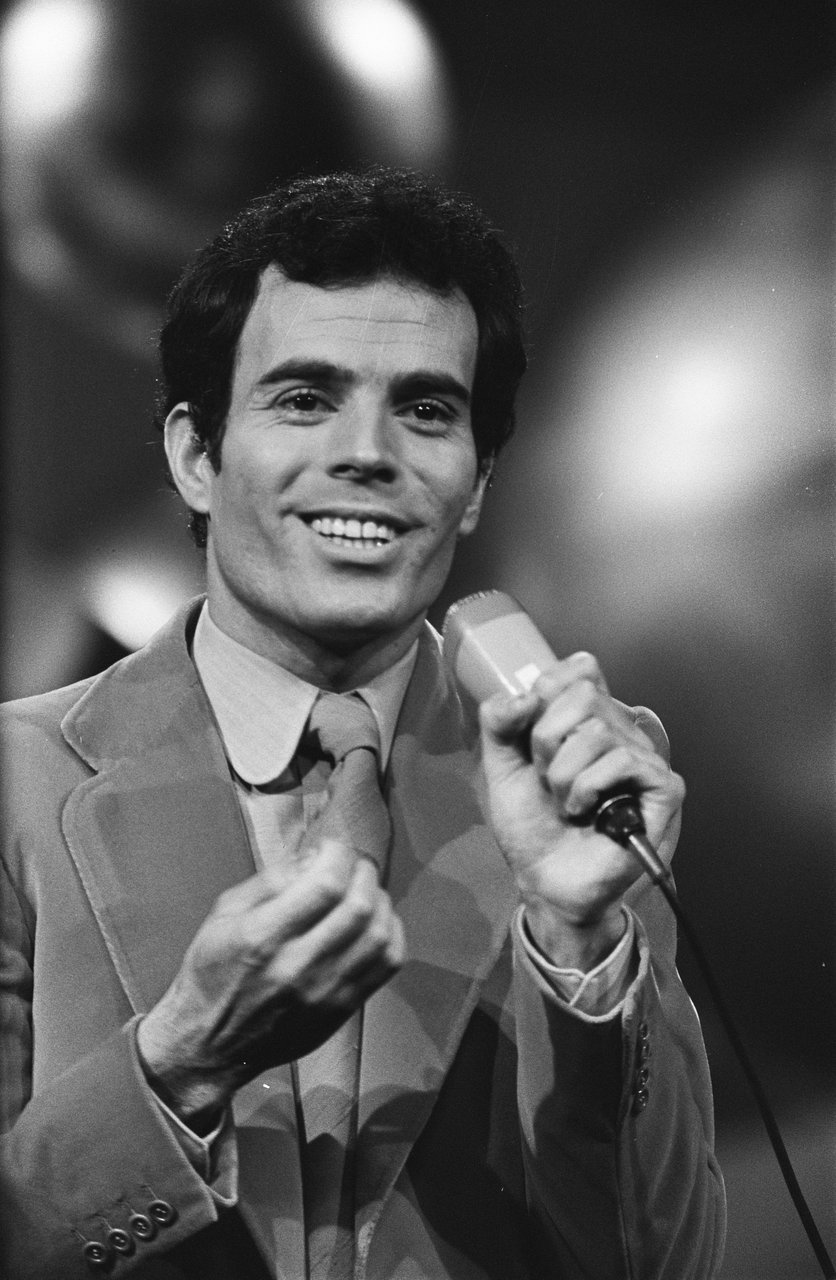 Julio Iglesias nel 1970