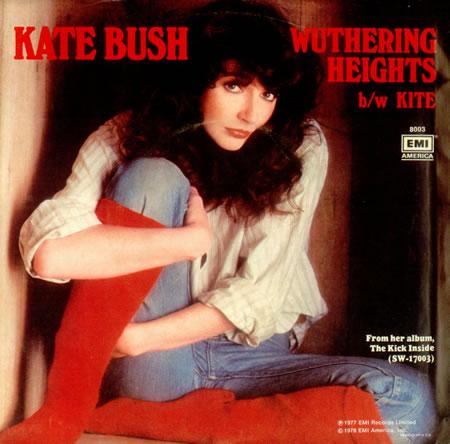 Kate Bush Wuthering Heights COPERTINA