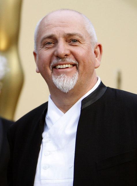 Peter Gabriel nel 2012
