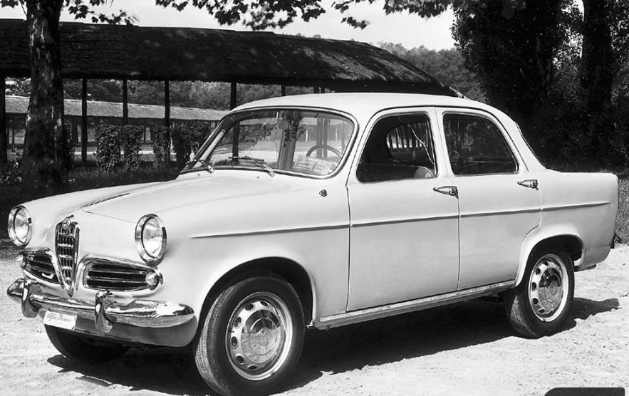 Una Giulietta anni '50