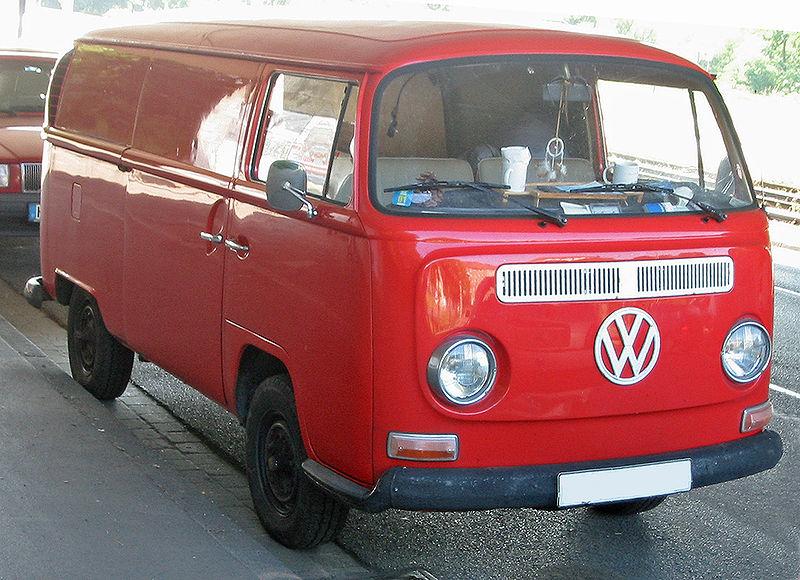 Volkswagen Transporter T2 Bay configurazione furgone
