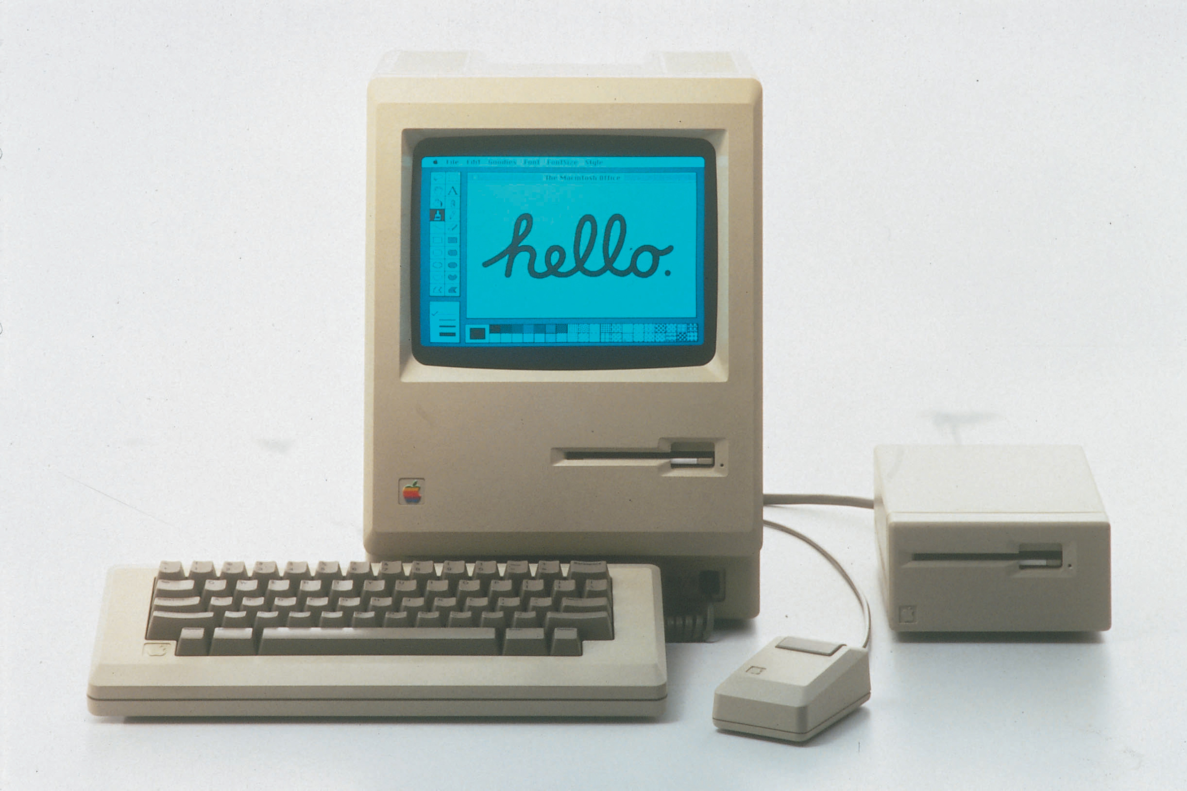 APPLE MACINTOSH 1984 128 originale