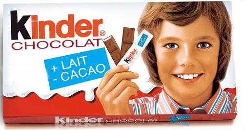 Prima confezione della Barretta Kinder