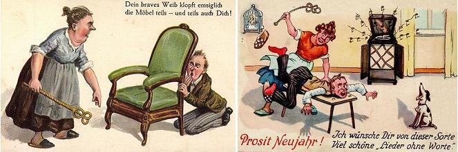 """Vignette del """"secondo uso"""" del Battipanni"""