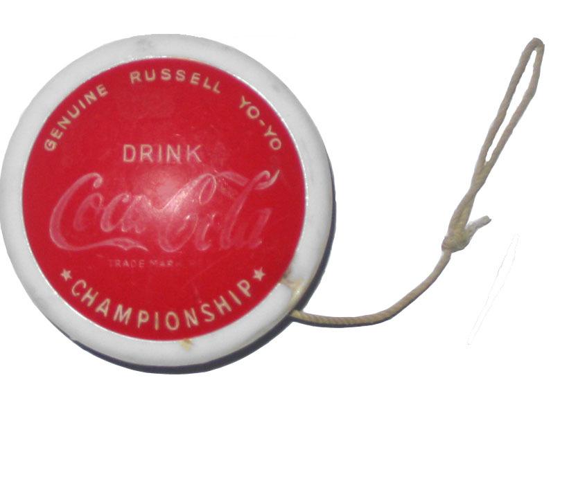 Yo-yo vintage della Coca-Cola