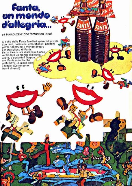 aranciata fanta pubblicità topolino