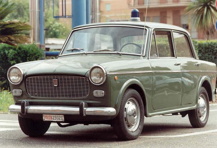 FIAT 1100 D POLIZIA