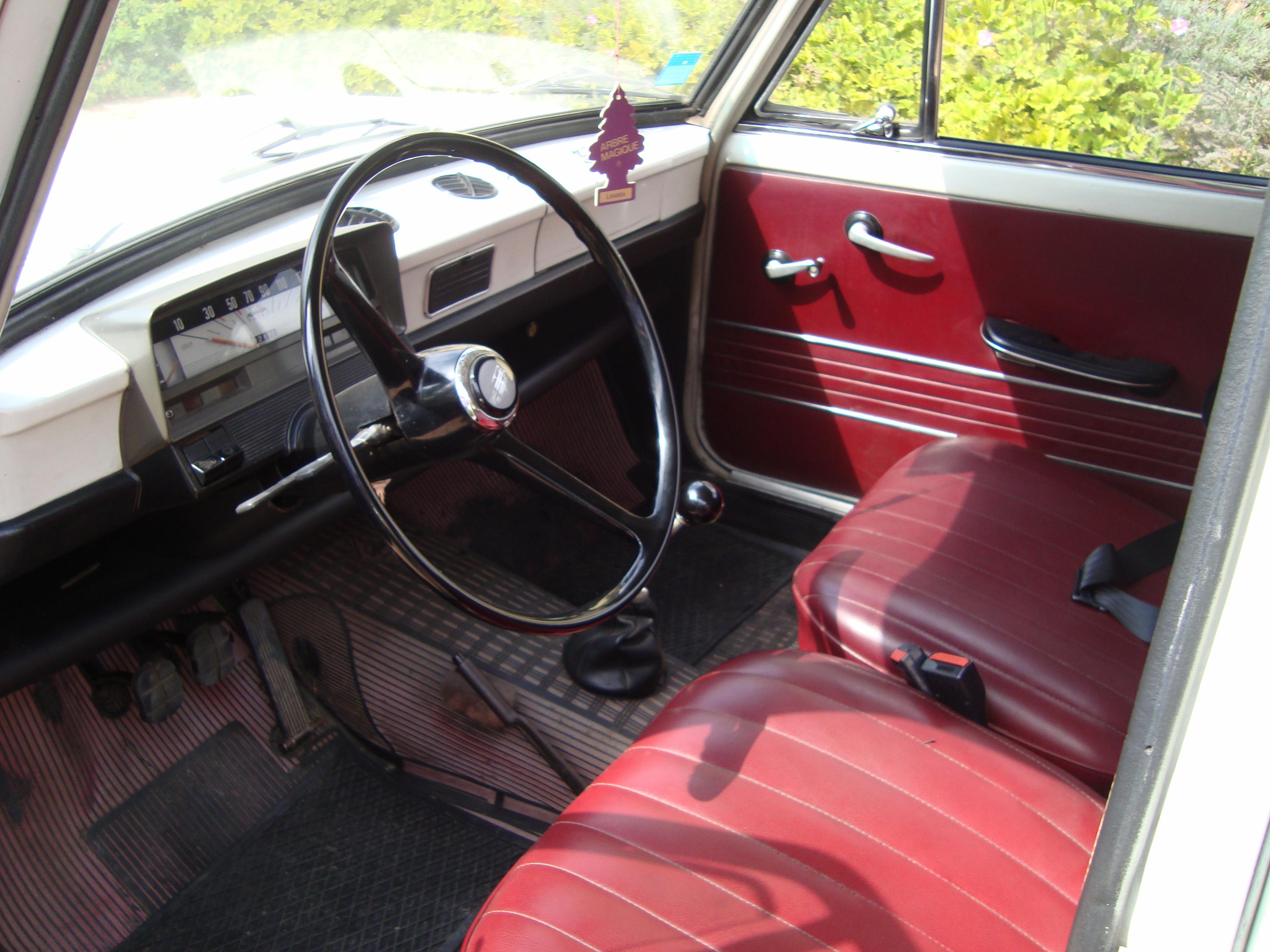 Fiat 1100 R Interni