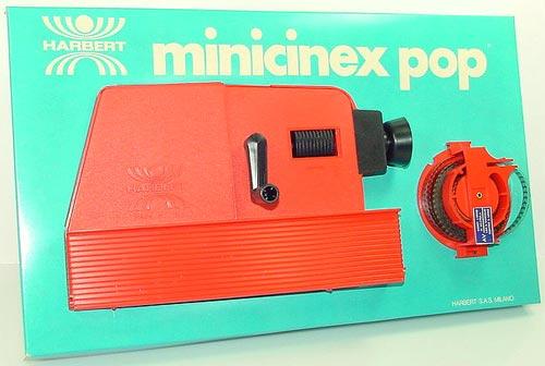 harbert minicinex 1968 proiettore