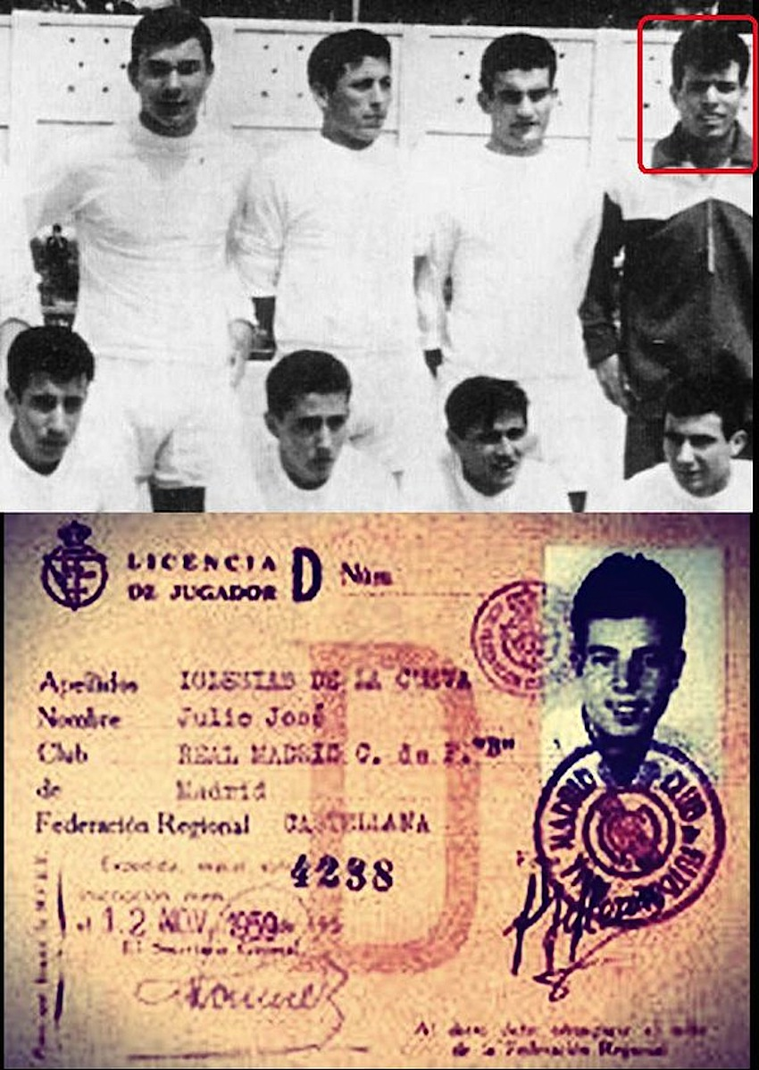 julio_iglesias_calciatore_Real_madrid_anni_50_anni_60