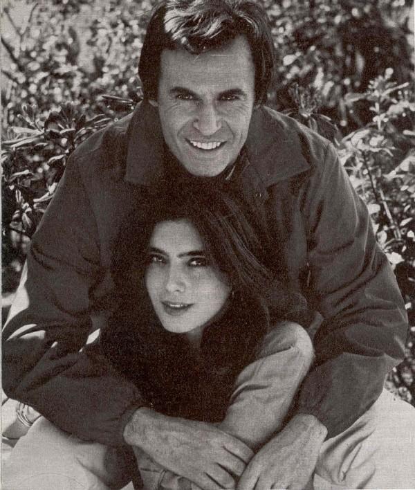 Maria Antonietta e Franco Califano
