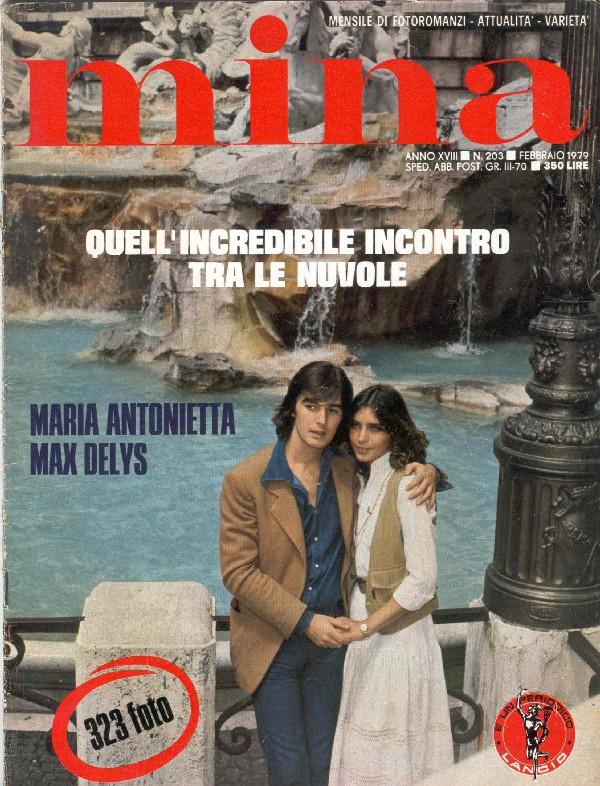 Max Delys e Maria Antonietta