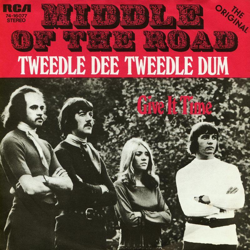 middle of the road tweedle dee tweedle dum 1971 copertina
