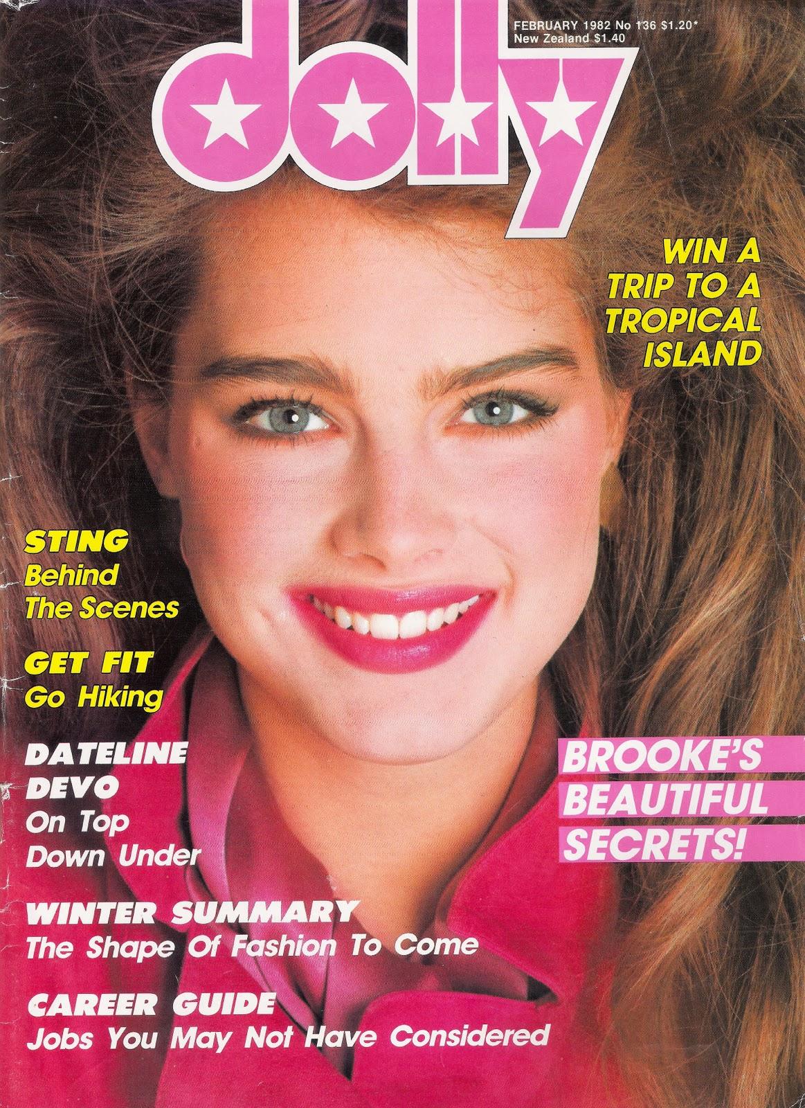 Brooke Shields copertina di Dolly