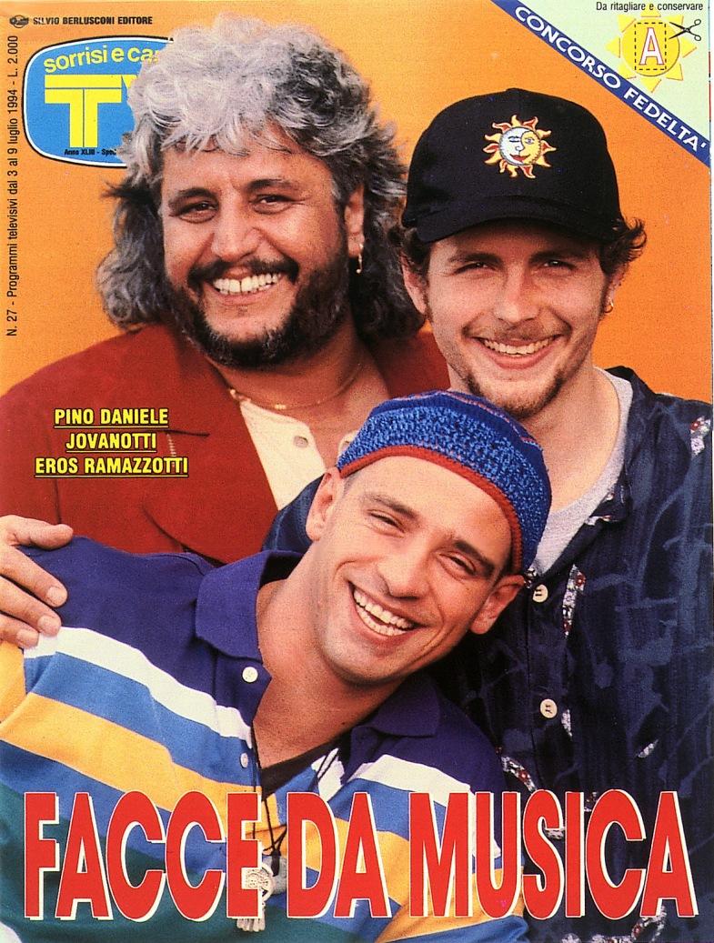 Sorrisi e Canzoni TV - Copertina del 1996 -