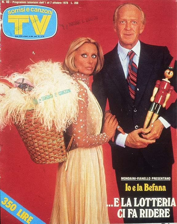 Sorrisi e Canzoni TV - Copertina dedicata a Raimondo Vianello e Sandra Mondaini - 1978 -