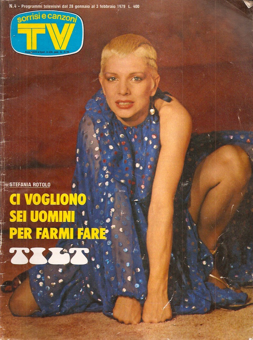Sorrisi e Canzoni TV - Copertina dedicata a Stefania Rotolo - 1979 -