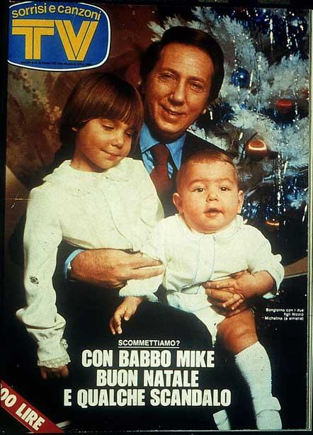 Sorrisi e Canzoni TV - Copertina con Mike Bongiorno - 1976 -