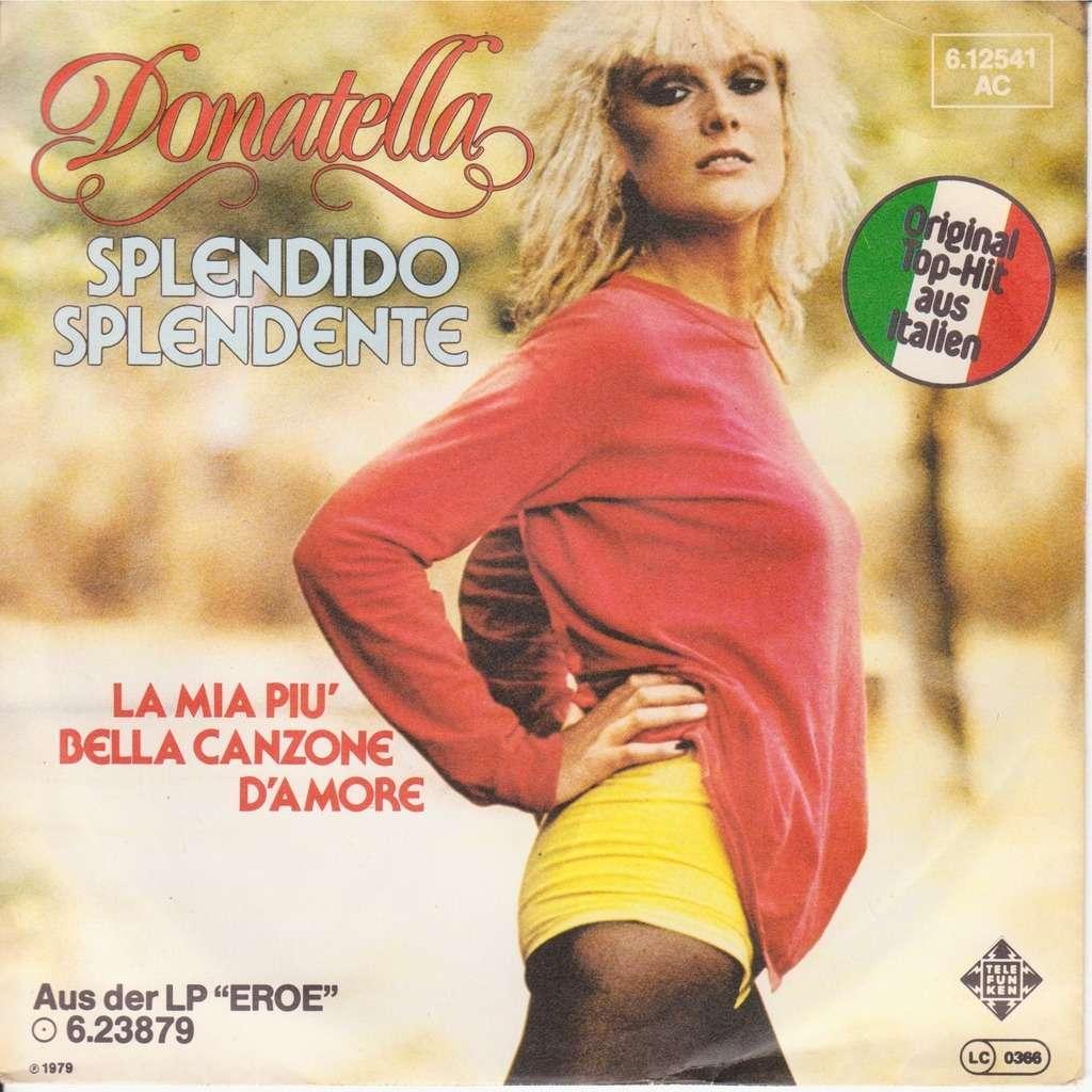 splendido splendente donatella rettore 1979 copertina