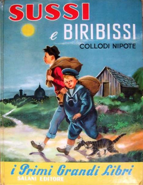 sussi e biribissi collodi edizioni salani 1956