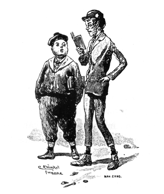 Sussi e Biribissi - Illustrazione -